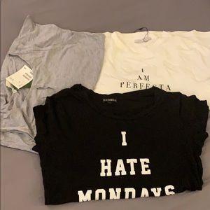 3 tshirts for 15